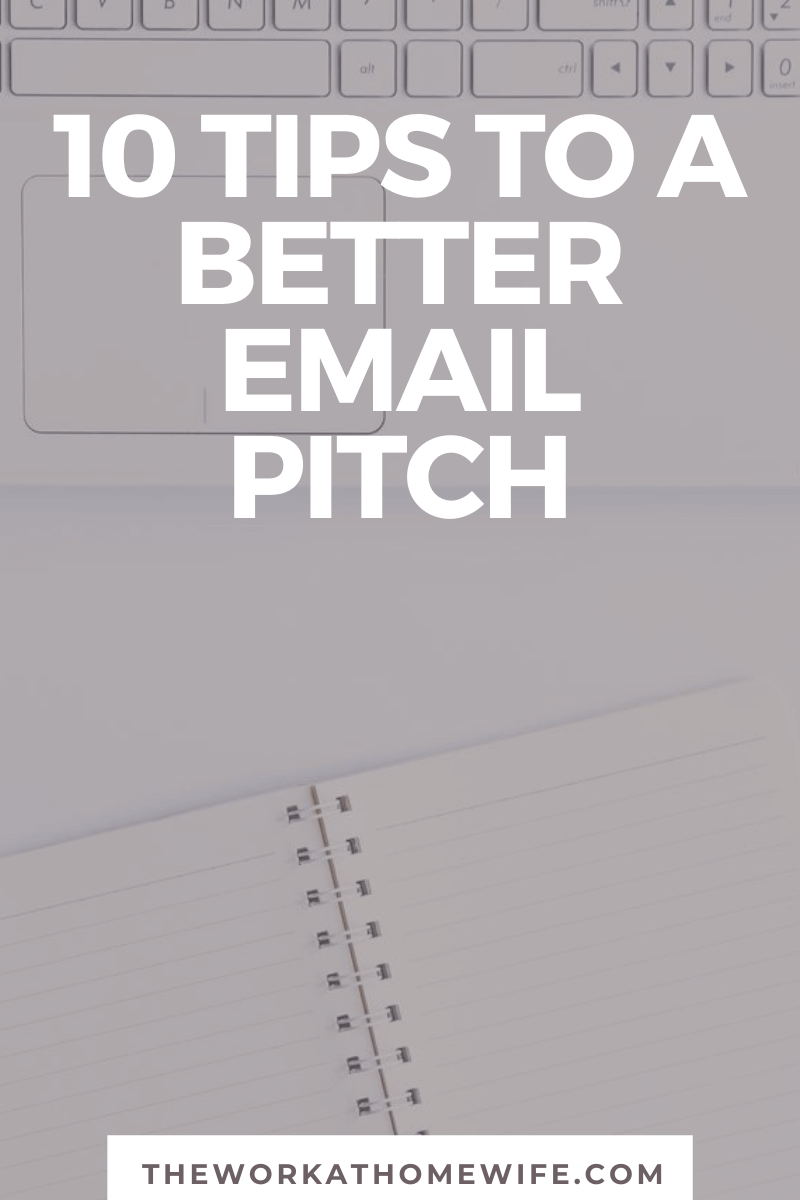 Pitching stinks! Here are a few tips to ensure your email pitch is read and hopefully accepted.