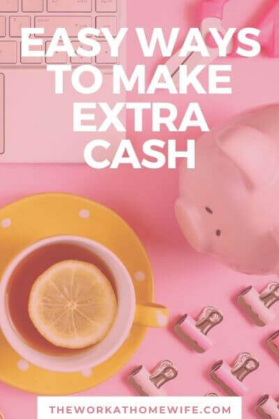 If you're down to the wire, it's time to get moving. I have several easy ways to make extra money. Many of these I've tried myself.