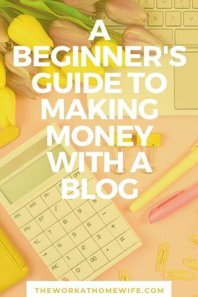 Are you a beginner blogger and wondering how to make money with a blog? The good news is it isn't as difficult as one may think. Here's a quick guide.