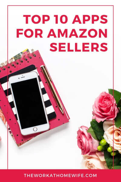 Here are some great apps for Amazon sellers to help you streamline the selling process, communicate with buyers, and stay organized.  #amazon #amazonseller #amazonfba